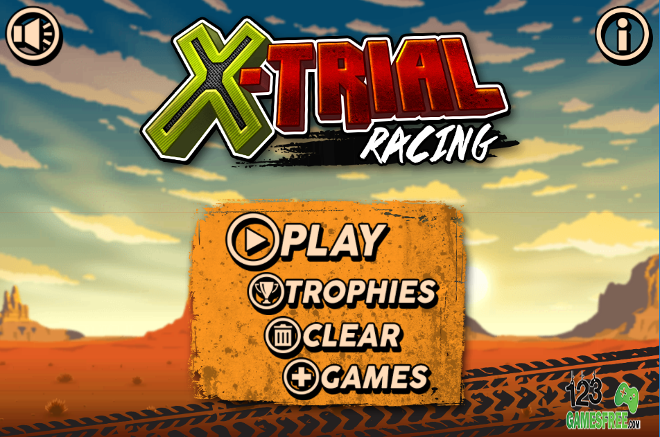Game X-trial racing