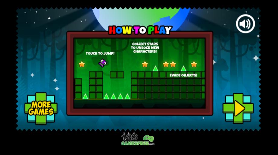 game Geometry Neon Dash World 2