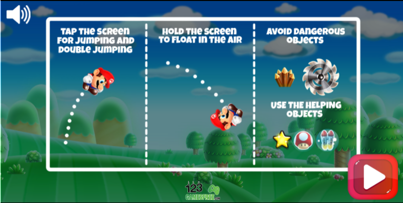 Super mario run games