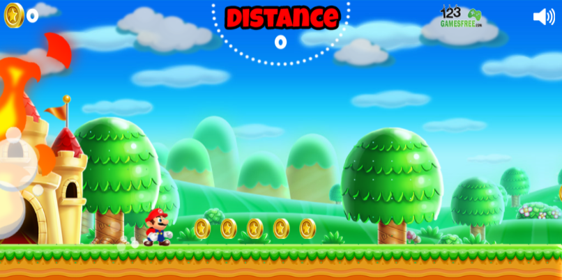 game Super Mario run