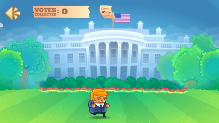 game Trump – The Mexican wall