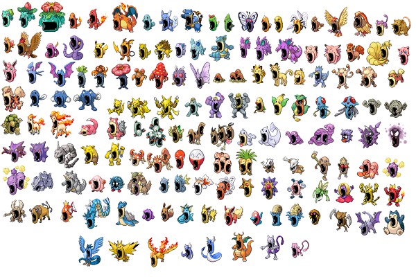 Pokemon games Gen I