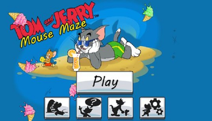 Tom and jerry cartoon games for kids