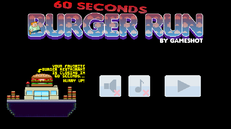 cool math games 60 second burger run