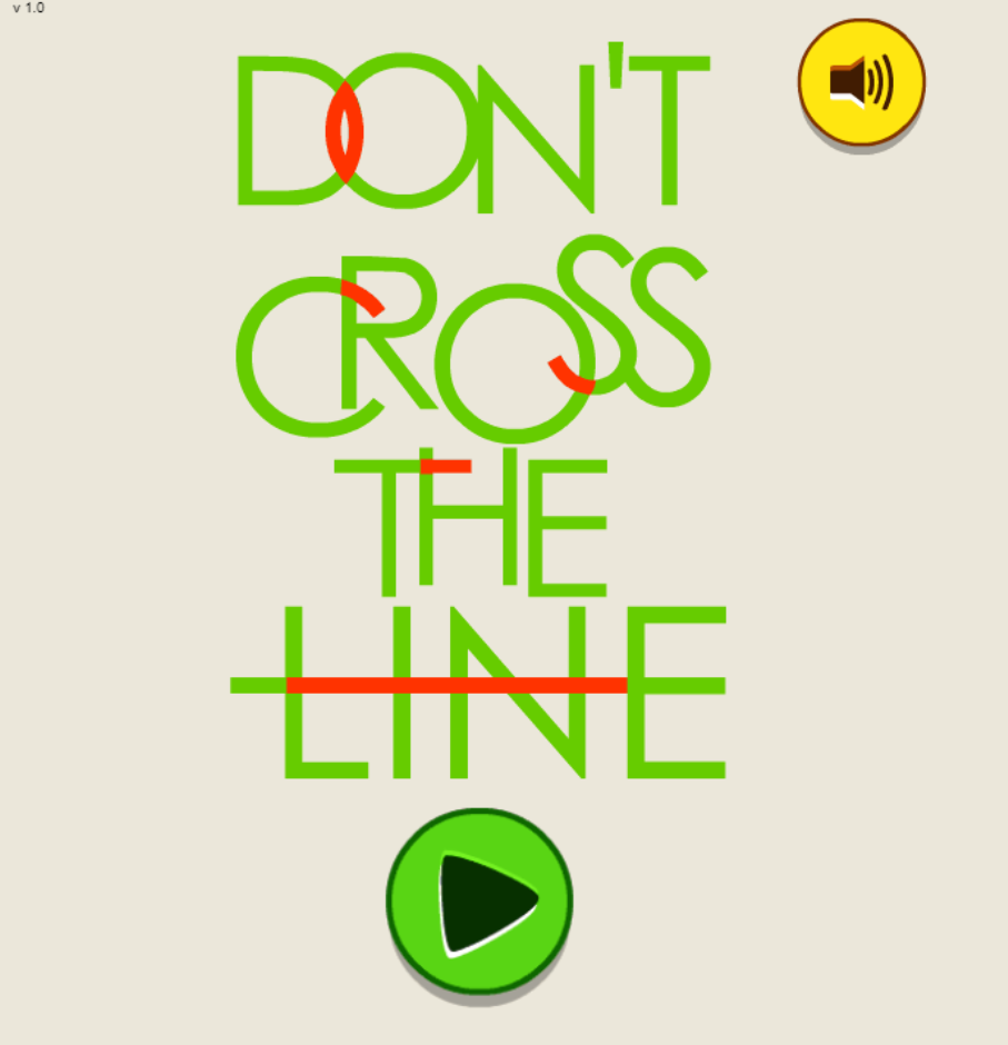 cross the line game