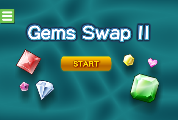 "In gem swap 2 just click the ""play now"" button to start the game"