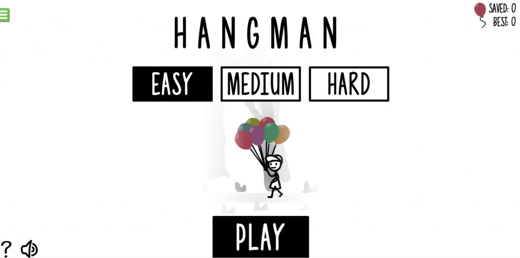 hangman word game