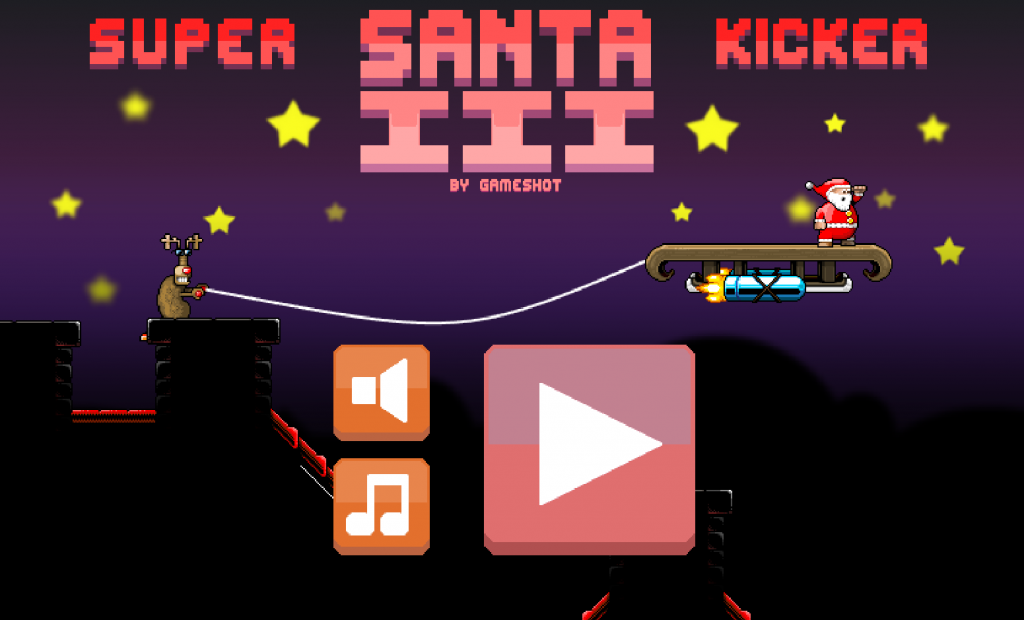 "Once in Super Santa Kicker 3 just click the ""play now"" button to enjoy the game"
