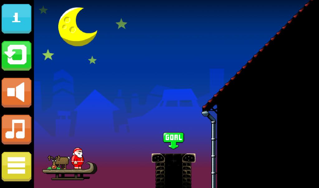 cool math super santa kicker