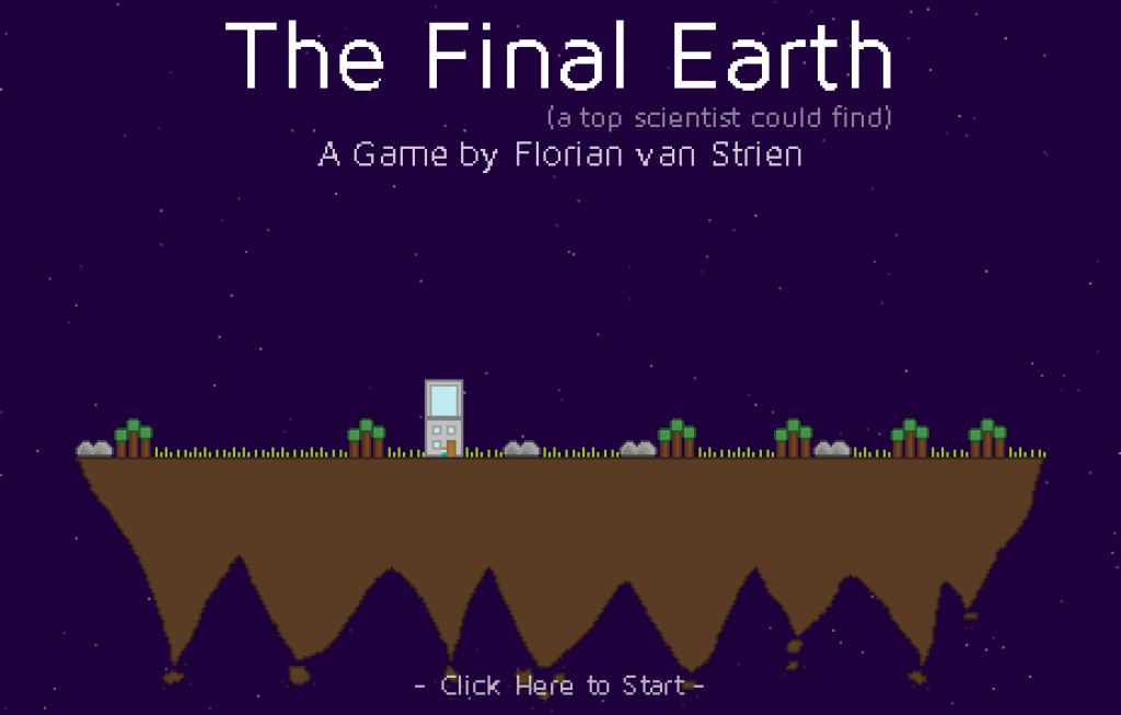 "At the beginning of the final earth game you just click on ""play now"" to receive the reward"