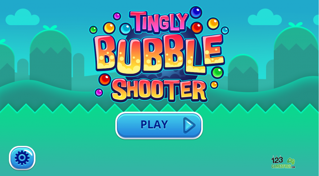 "At the start tingly bubble shooter we need to hit ""play now"" button to enjoy this game"
