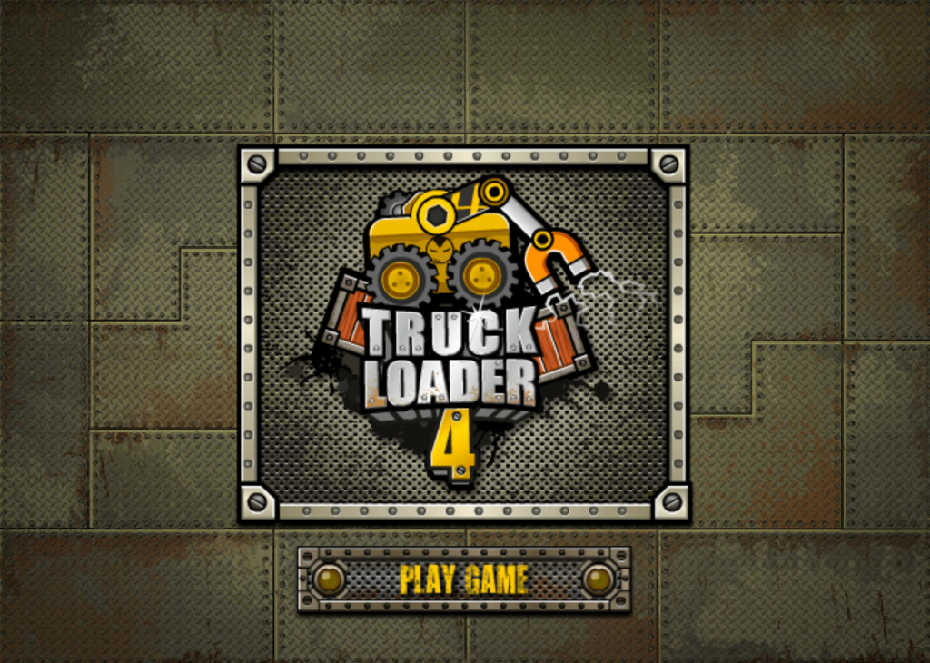 "In truck Loader 4 just click the ""play now"" button to start the game"