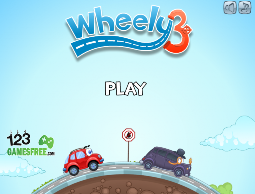 "When starting the wheely games you just just click to ""play now"" for reward game"