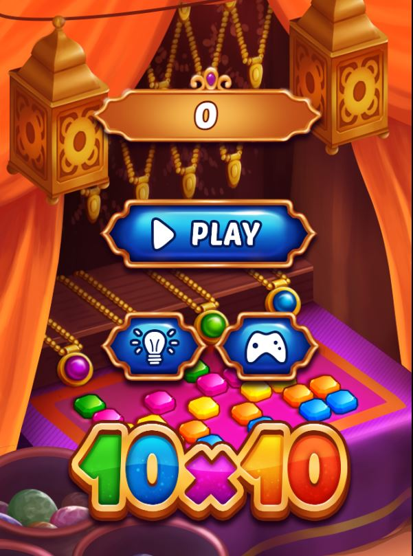 10x10! Arabic game