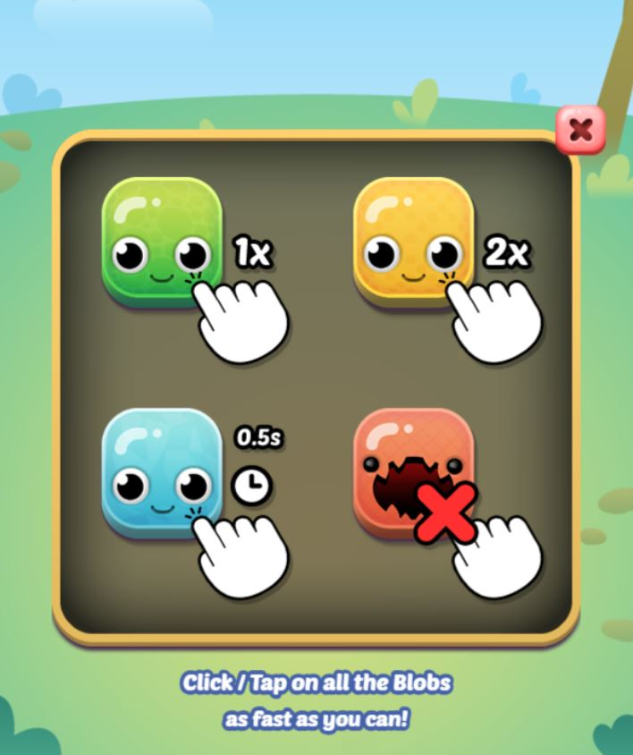 Blob Bop game