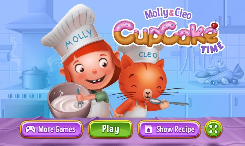 Cupcake Time game