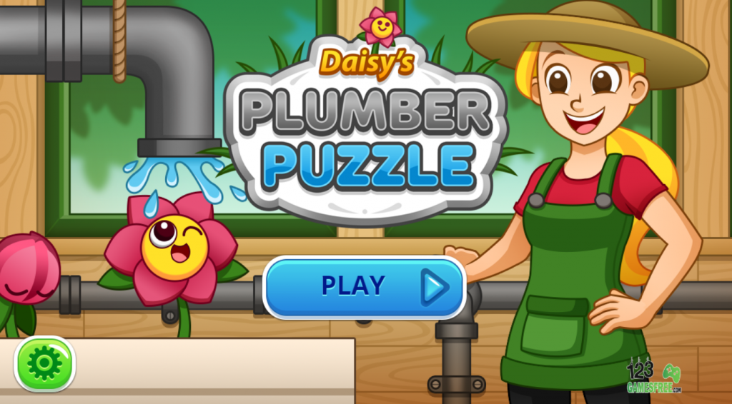 Daisy Plumber Puzzle games for kids
