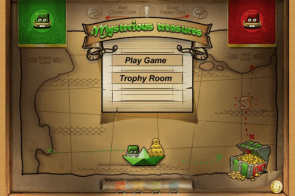 Mysterious Treasures game