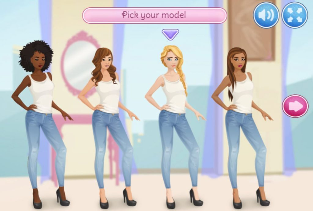 Stella's Dress-Up: Fashion Show game