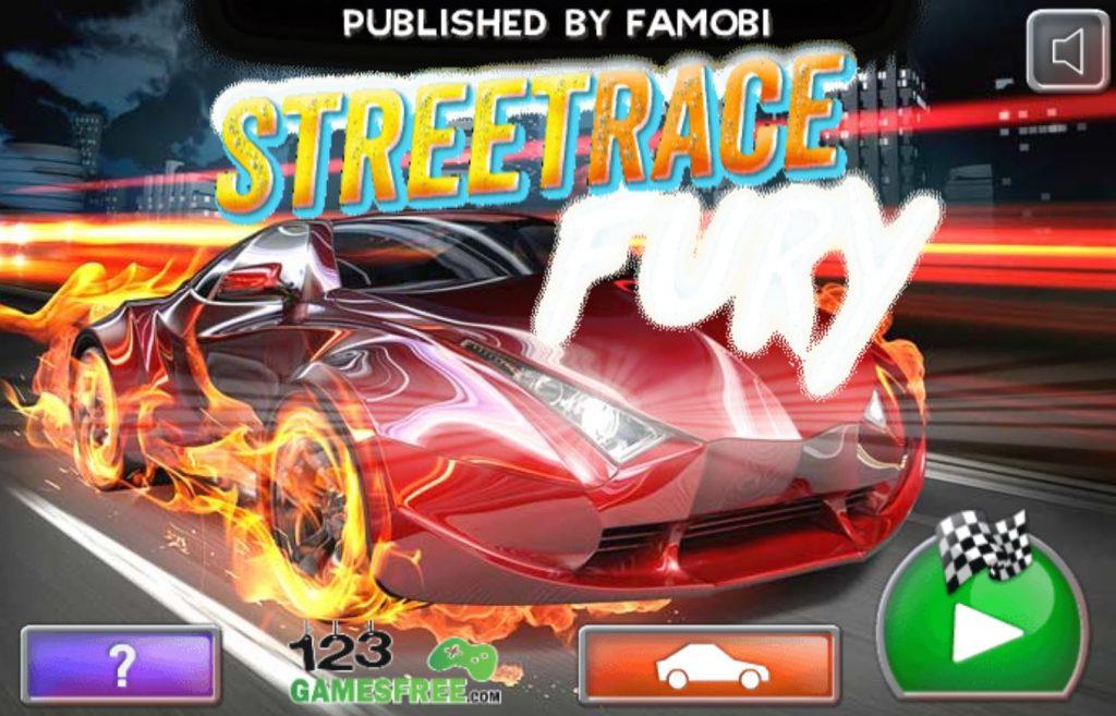 Street Race Fury poki