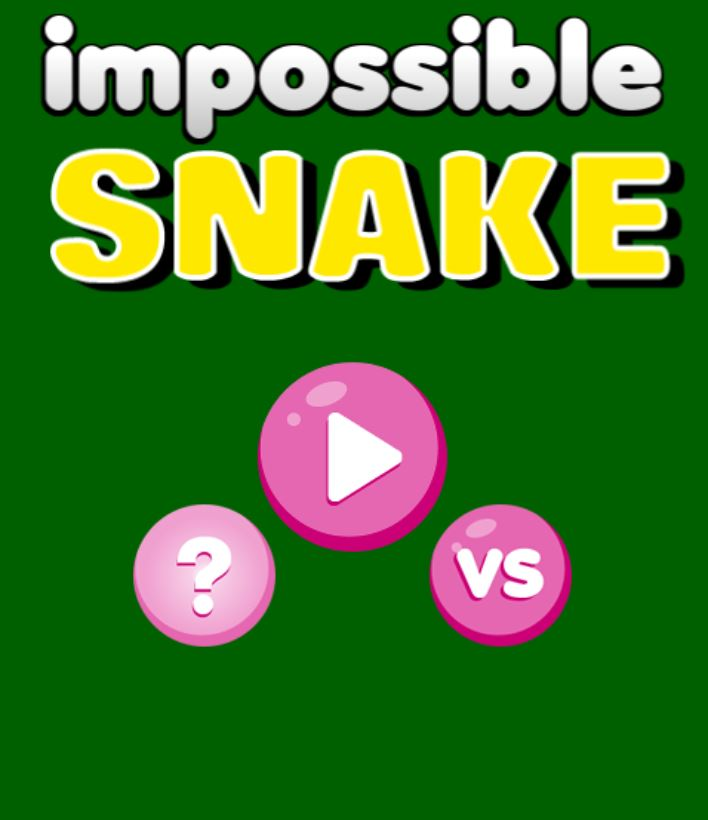 Impossible Snake game