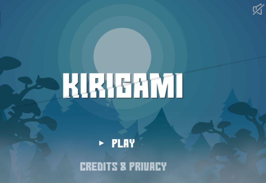 Kirigami game