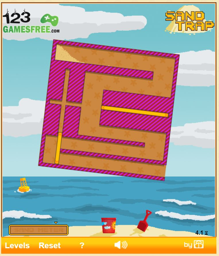 Play game Sand Trap hooda math - Free online Puzzle games