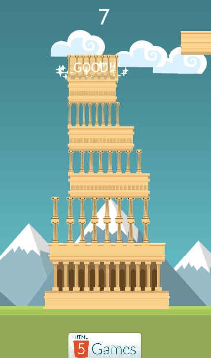 build a tower game