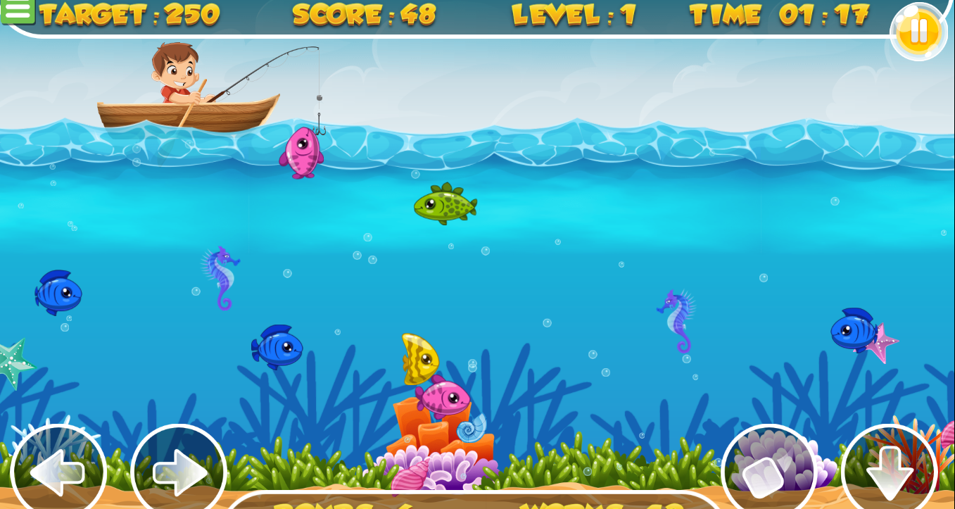 go fishing game online