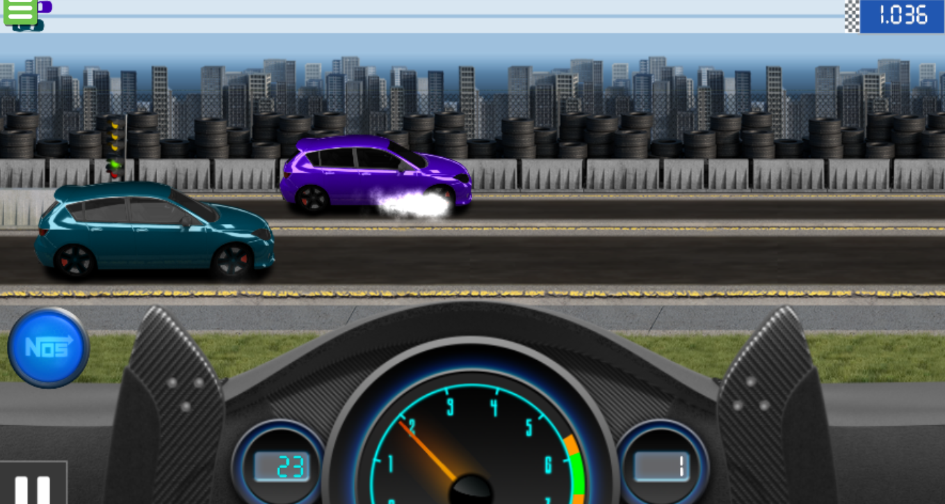 drag racing game for free
