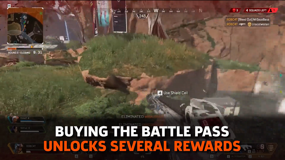 Apex Legends Update Brings Octane And Battle Pass Release For Season 1